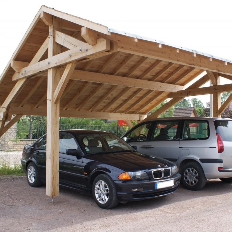 Abris carport 2 voitures 5.50 X 3.50M